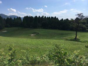 珍しいゴルフ場